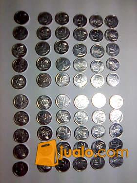 harga Uang logam lama IDR,nominal Rp.50,- emisi 1999 - 2002 Jualo.com