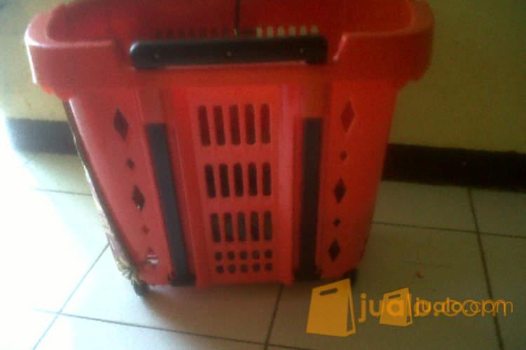 harga keranjang trolly plastik Jualo.com