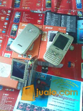 HANDPHONE UNIK BISA PAKE 4 KARTU SIM GSM DAN 2 KARTU MEMORY Prince PC 118