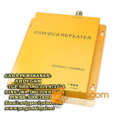 harga (Penguat Sinyal GSM) Kelengkapan isi repeater 3g, calltec gw 1500 wcdma +3g Jualo.com