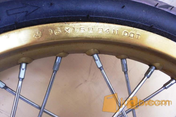 harga (wts) Velg TK japan(1set) ring 16 Gold utk Mio, soulGT, GT125, xeonrc Jualo.com