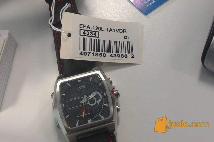 harga Jam Tangan CASIO EDIFICE EFA-120L Original 99,99% New Jualo.com