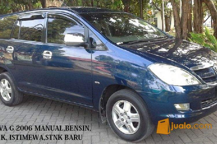 harga TOYOTA KIJANG INNOVA G 2.0 MANUAL BENSIN 2006 STNK BARU DI SEMARANG Jualo.com