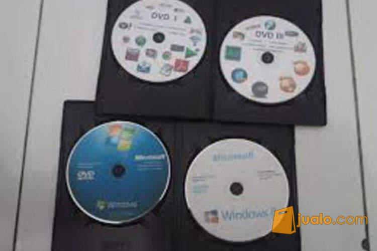 harga 36 DVD Paket Instal Ulang Laptop Dan Komputer (OS,Software,Game,Hiren,Dan DriverPack) Jualo.com