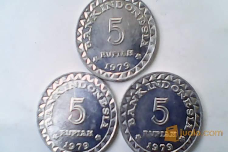 harga uang logam mahar 15 rupiah KB kecil th 1979. Jualo.com