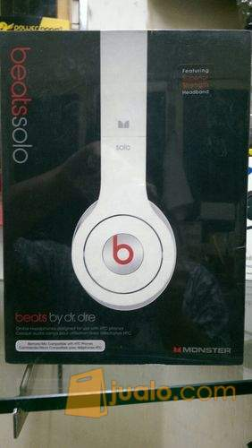 harga Headphones Beats Solo White By dr.dre Original Jualo.com