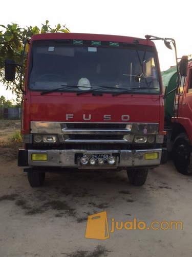 harga Dijual Truk Tangki Mitsubishi Fuso Intercooler 6D22 seri 55 6x2 2003 Jualo.com