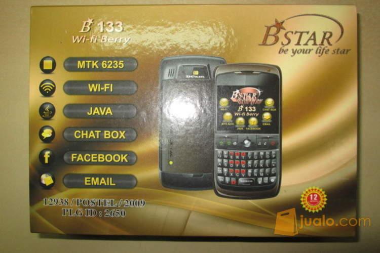 harga hape B'STAR B133, murah, tp gak murahan, QWERTY, Wi-Fi, dual SIM Jualo.com