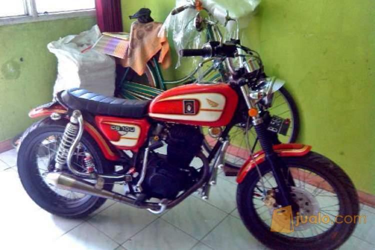 harga Honda CB 100 Modif Japstyle Red Jualo.com