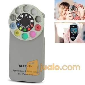 harga Case For iPhone 4 / 4s Special Lens Filter Design Hard Jualo.com