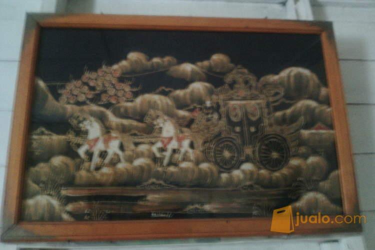 harga Jual Lukisan batik Kereta Kencana Nyai Ratu Kidul Jualo.com
