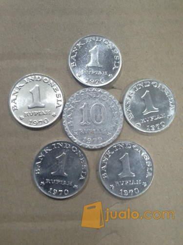 harga uang kuno mas kawin Rp15 paket 67079 Jualo.com
