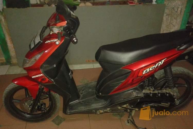 harga motor honda beat tahun 2008 merah marun Jualo.com