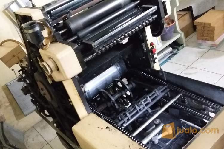harga mesin cetak offset hamada 602 Jualo.com