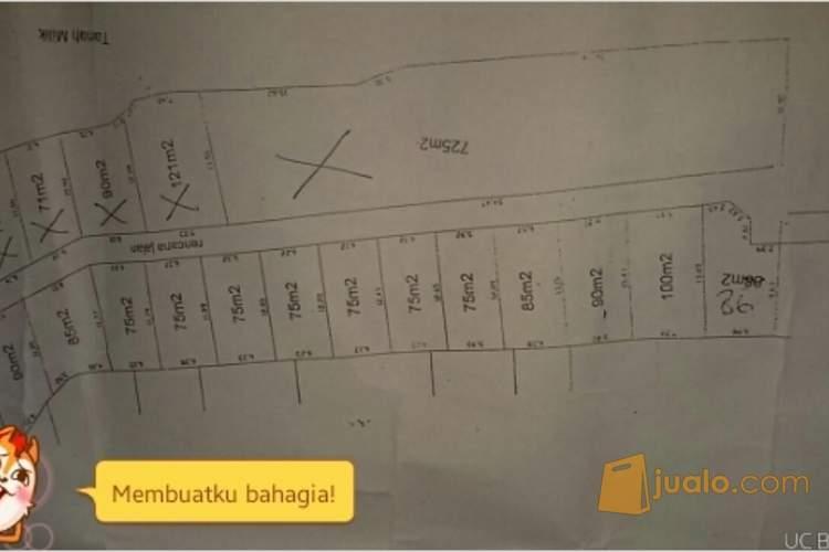 harga Di jual tanah kavling di guwang luas paling kecil 75 m2 Jualo.com