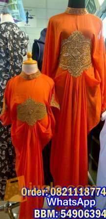 harga Kaftan Mom and Kid tamara Bahan Ceruty  all size Jualo.com