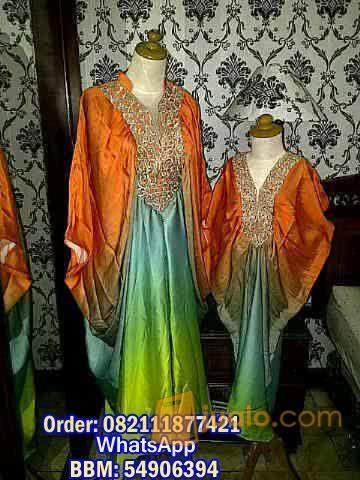 harga kaftan princess Mom and Kid 007 Jualo.com