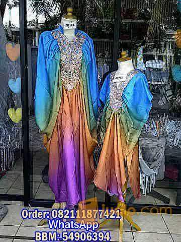 harga kaftan princess Mom and Kid 005 Jualo.com