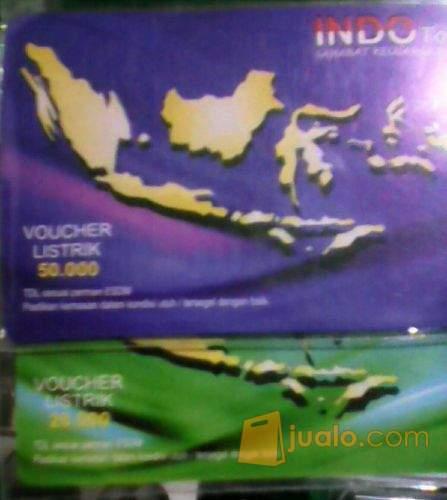 harga voucher pulsa listrik prabayar Jualo.com