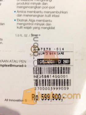 harga Murad Acne Complex Kit Jualo.com