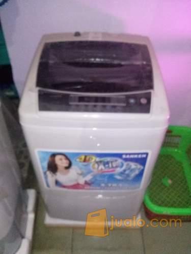 Mesin Cuci Sanken 1 Tabung 7.5 KG AW – S807 (Magic Wash)