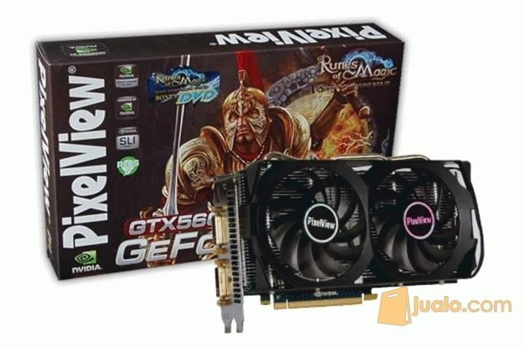 harga VGA GAMER PIXELVIEW GTX 560 TI THUNDER Jualo.com