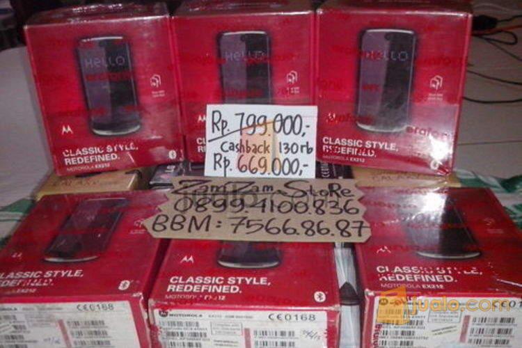 harga Motorola Gleam EX212 versi dual Samsung C3520 Jualo.com
