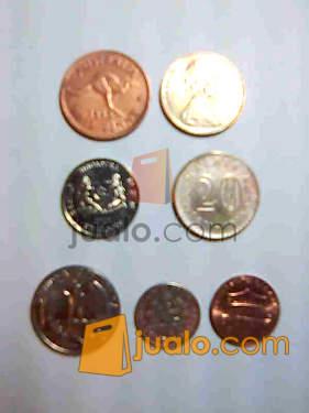 harga Uang logam dari manca negara  - koleksi Jualo.com
