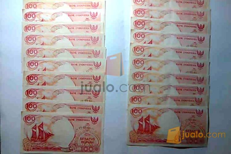 harga Uang kertas IDR nominal Rp.100,-  ---\u003e tahun 1992 Jualo.com