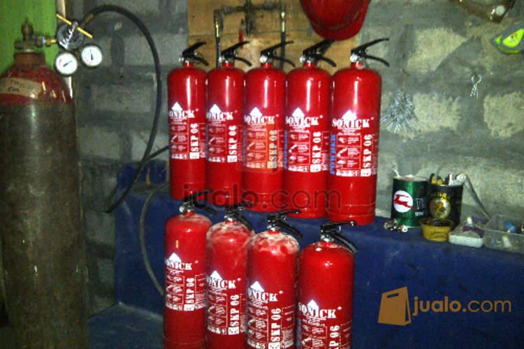 harga isi ulang tabung pemadam api powder foam co2 gas hallon Jualo.com