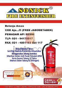 harga alat tabung pemadam api kebakaran powder foam co2 gas hallon murah berkualitas Jualo.com