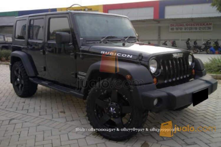 harga Jeep Wrangler 3.8 4wd AT 2009 Hitam 100% Original Jualo.com