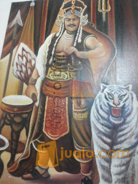 harga lukisan eyang prabu siliwangi,ratu pantai selatan nyi roro kidul Jualo.com