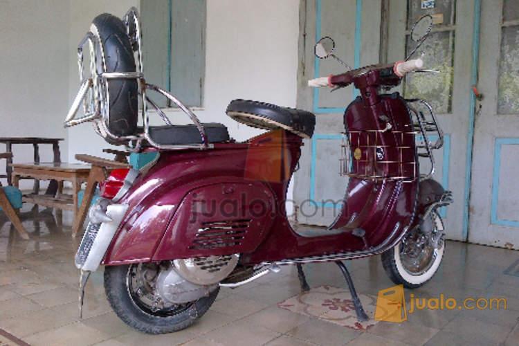 harga Vespa PTS 100cc Tahun 1980 Full Accecories Istimewa Jualo.com