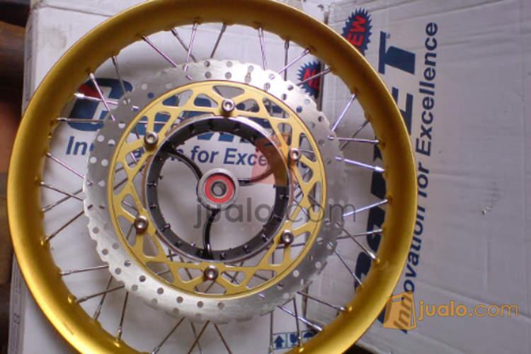 harga Velg Comet Ruji pelangi Tromol Ninja untuk Yamaha RX KING Jualo.com