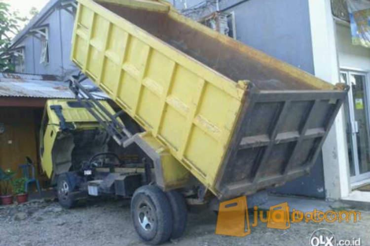 harga Mitsubishi Colt diesel FE 74HD berikut dengan Dump truk Jualo.com