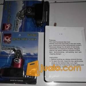 harga Gembok Motor /Brake Disc Lock Kunci / Gembok Pengaman Rem Cakram / Disc Motor Jualo.com