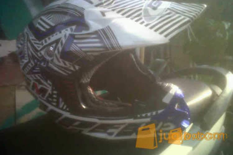 harga WTS - Helm Cross GM Neutron 2nd Mulus Murah Jualo.com