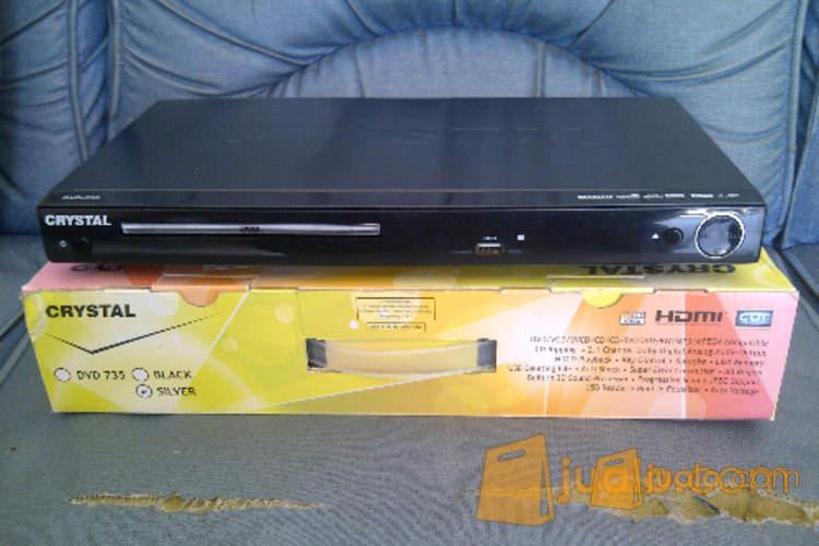 harga DVD Player HDMI Crystal Seri 7 Free Mic \u0026 Kabel HDMI Jualo.com