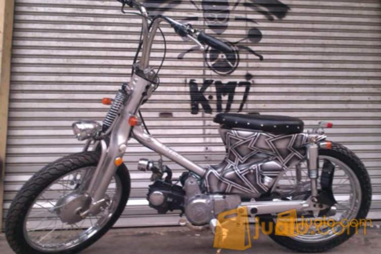harga Honda c70 street cub,choopy cub gress custom rapih jakarta Jualo.com