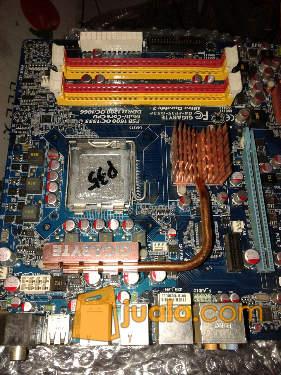 harga mobo p35 full solid kapasitor satu paket Jualo.com