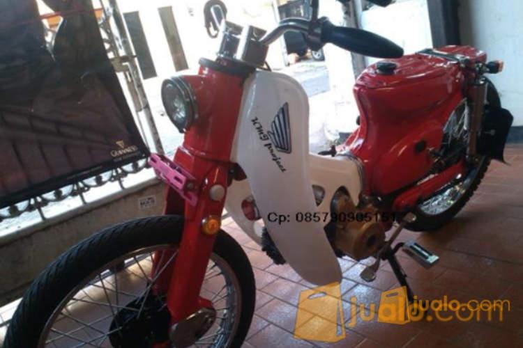 harga Wts honda c70 / c 70 street cub merah nyentrik lampu c50 jakarta Jualo.com