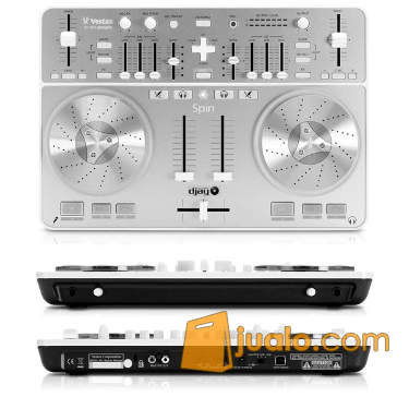 harga Vestax Spin USB Midi and Audio Controller - Silver Jualo.com