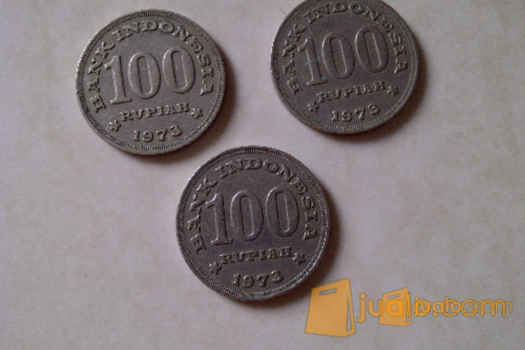 harga Koin Uang Logam Rp 100 Tahun 1973 Jualo.com