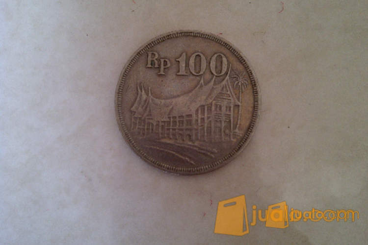 harga Uang Logam Tebal Rp 100 Tahun 1973 Jualo.com