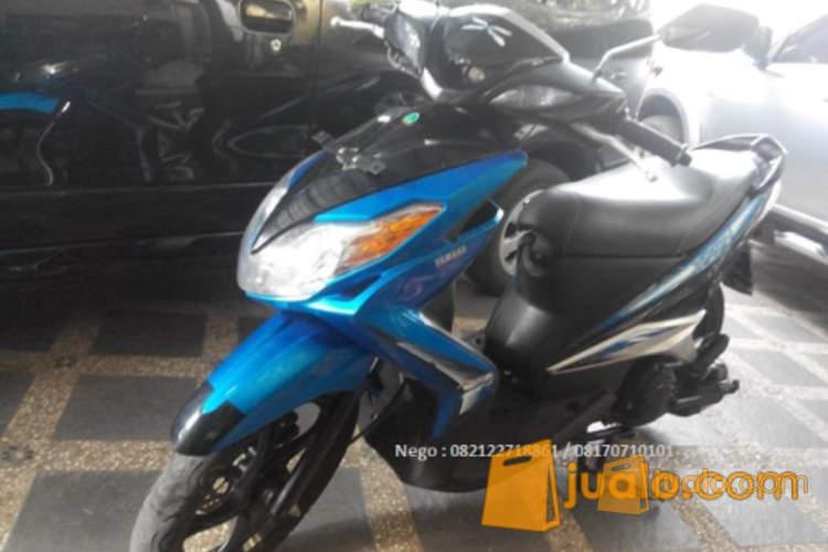 harga Yamaha Xeon CW 2011 Hitam Blue Matic Responsif Jualo.com
