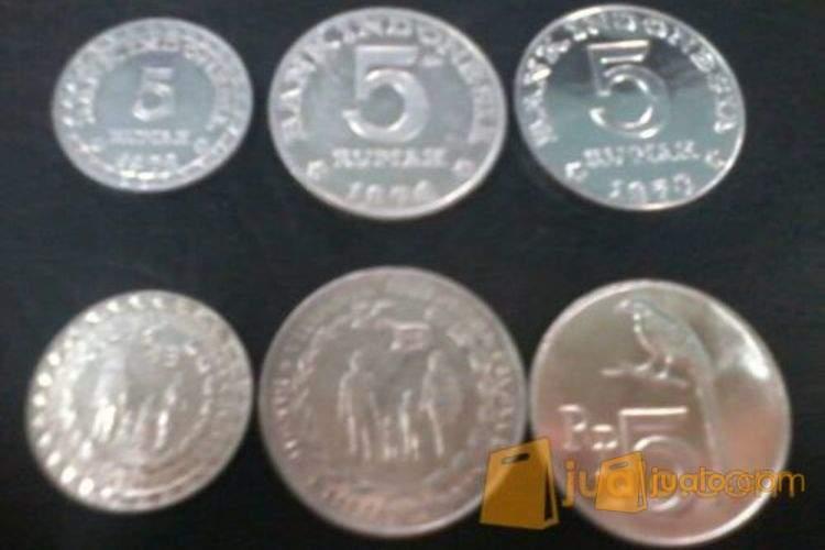 harga uang kuno Rp5 / 5rupiah Jualo.com