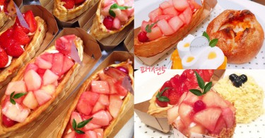 水果迷不能錯過的首爾甜點天堂!超吸引清新水蜜桃甜點~全部都來一件吧!