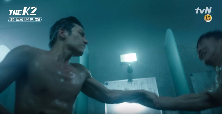 the-k2-shower-fight