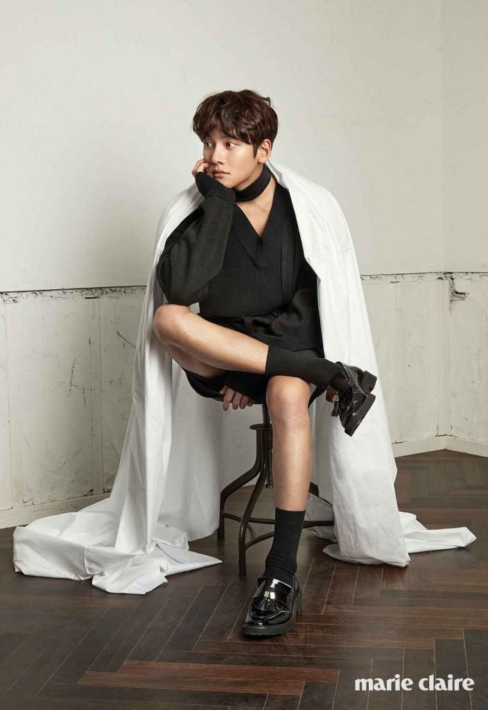 Ji Chang Wook marieclaire